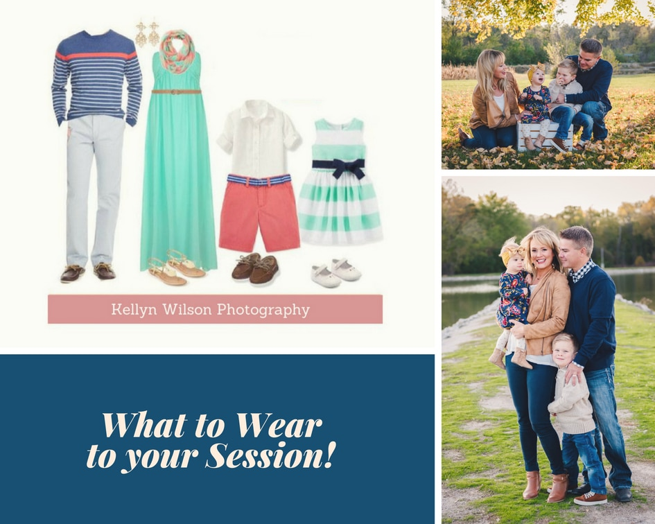No more stressing on what wardrobe outfits to choose for your family session! Style & Select will outfit your entire family!