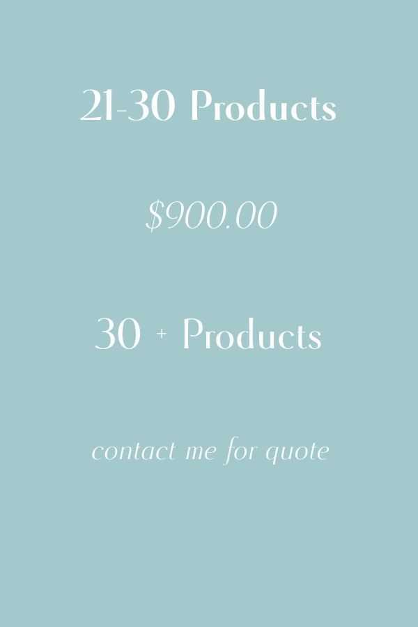 products website template